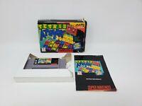 Tetris Attack (Super Nintendo Entertainment System SNES, 1996) Box Manual CIB
