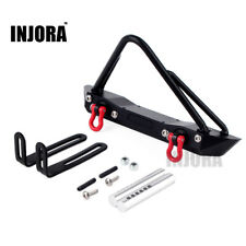 Front Bumper Set For 1/10 RC Crawler Jeep Wrangler Rubicon Axial SCX10 RC4WD D90