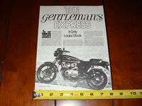 1979 SUZUKI GS1000 THE PERFORMANCE WORKS HARRY MAILLET - ORIGINAL 1981 ARTICLE