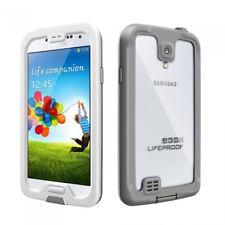 LifeProof NUUD Samsung Galaxy S4 Waterproof Case - Retail Packaging - WHITE/GREY