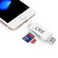 TF SD lettore schede USB Lightning iPhone 7 lettore di schede memoria esterna