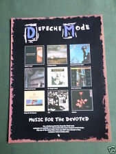 Depeche Mode Rock Music Clippings, Cuttings & Articles