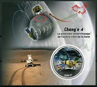 Mali 2019 MNH Chang'e 4 Landing Other Side of Moon 1v S/S Space Stamps