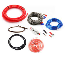 8 Gauge Car Audio Amplifier Installation Wiring Kit Red Power Wire Cable Speaker