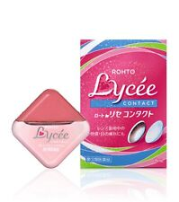 Japan Rohto Lycee Contact Eyedrops 8mL (for Contact Lens)  日本樂敦Lycee眼藥水(隱形眼鏡適用款)