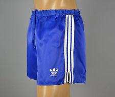 ADIDAS Glanz Nylon Shorts!!!  Vintage Short Sporthose blau-Gr.:M-5   (1298)