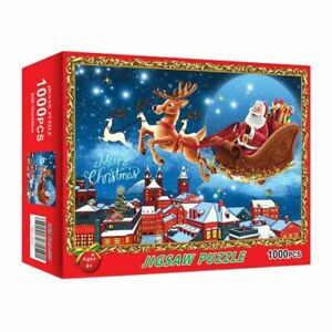 1000 Pieces Christmas Picture Puzzle Adult Children's Game Toy 50*70cm Series