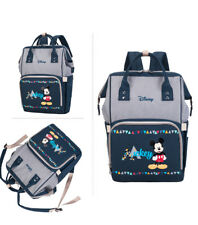 Disney Mickey Minnie Diaper Bags Stroller Handbag Travel Backpack Large Capacity