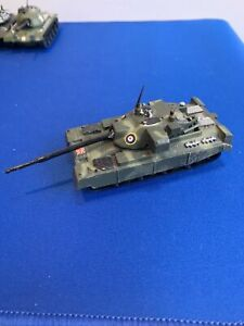 Vintage Zylmex T402 Chieftain Tank DIECAST HONG KONG Loose