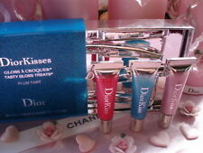 100%AUTHENTIC Exclusive RARE DIOR JEWEL DIORKISS PLUMPING LIPGLOSS TRIO GIFT SET