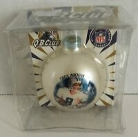 Troy Aikman #8 Dallas Cowboys NFL Ornament Made In The USA Collectible Q.B. Club