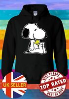 Snoopy PEANUTS Cartoon Happy Cute Hoodie Novelty Pullover Men Women Unisex V95