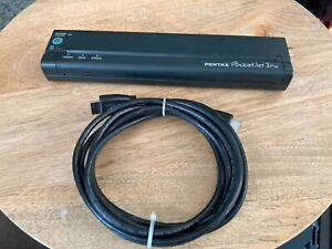 Brother POCKETJET 3 PLUS Mobile Thermal Printer -USB cord included- no battery