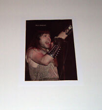 IRON MAIDEN BRUCE DICKINSON VINTAGE PIECE OF MIND 1 PAGE PIN UP MAGAZINE POSTER