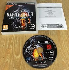 Sony Playstation 3 PS3 Console Game - Battlefield 3 Limited Edition