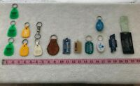 vtg Assorted Lot Various Keychains Car Dealership Advertising Ford Chevy City