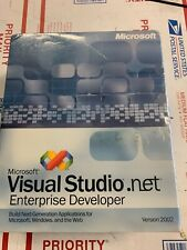 Microsoft Visual Studio .Net 2002 enterprise developer  new seal box never open