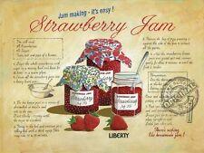 Fraise Jam vintage cuisine café Boutique ANCIENNE Food jam-signalisation, moyen