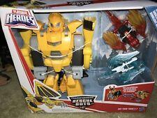 New TRANSFORMERS Rescue Bots KNIGHT WATCH BUMBLEBEE Playskool Academy Set