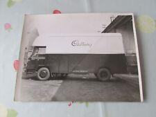 Original CADBURY Chocolate Maker Van Promotional Photo Estimate circa 1950's #4