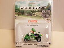CARRERA Go!!!  SLOT Car 1:43 Nintendo MARIO KART 8 Luigi Analog Scalextric
