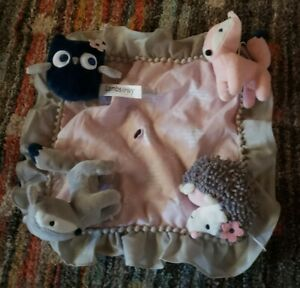 Lambs & Ivy Forever Friends Pink/Gray Owl/Foxl Baby Crib Mobile replacement toys