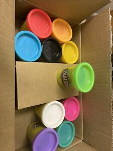 Play-Doh Modeling Compound 10 2oz Cans Bright Colors Creative Non-toxic 2yrs up