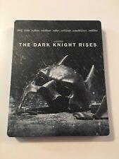 The Dark Knight Rises (Blu-ray/DVD, 2012, Steelbook)