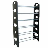 Practical 6 Tiers 18 Pairs Shoe Rack Closet Storage Organizer <None> dust cover