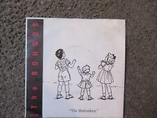 "THE BONGOS ""THE BULLRUSHES"" b/w ""AUTOMATIC DOORS"" 1981 FETISH 009 NM/VG+ OOP 7"""