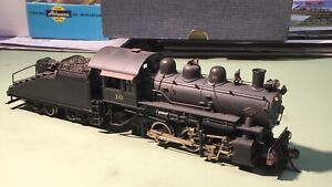 Pacific Fast Mail BRASS Union Pacific 0-6-0 custom painted steam locomotive