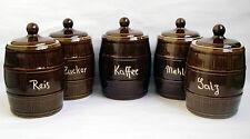 Küchen-Behälter-Sets im Landhaus-Stil aus Keramik