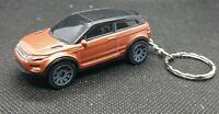 Diecast range rover evoque matchbox Car Keyring Keychain