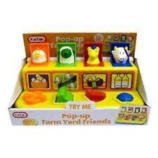 Bebés y niños pequeños Pop Up Farm YARD FRIENDS CORRAL Animales Juguete Regalo Nuevo