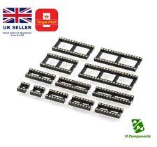 DIL / DIP SIP IC Sockets Adaptor Solder Type 6 8 14 16 18 20 24 32 40 Pin