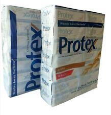 (2 pks-28Bars of 4.5oz) Protex Oats Antibacterial Soap Bar Jabon Protex Avena