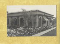 CA San Diego area  1908-29 RPPC real photo postcard BEAUTIFUL HOME & GARDEN