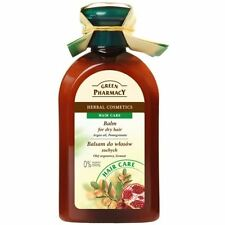 Green Pharmacy Balm for Dry and Damaged Hair Argan Oil and Pomegranate 300ml