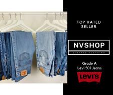 Levi's 501 Jeans Grade A Vintage Straight Leg Regular W26 W28 W30 W32 W36 W40
