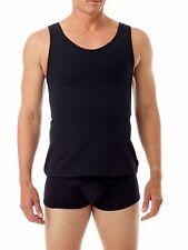 Mens Control Fit Cotton Concealer Chest Binder Top Slimming Underwear For Gents