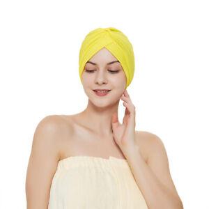 12x Lot Turban Sun Cap Pack Assorted Color Head Wrap Headband Head Cover Dozen