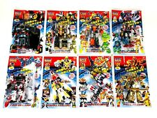 Polyfect Toys Japanese Transfomer KO Style Robots Set Of 8 Figures 7in All New