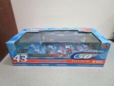1999 Petty Racing Diecast Cars Transporter 50th Anniversary 1:64 Set #43 NASCAR