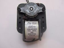 "Dayton 4M073 Shaded Pole Fan Motor 1/70 Hp 3000 Rpm 115 Volt 3/16"" D with 6"" Fan"