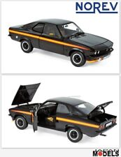 OPEL MANTA GT/E Black Magic 1975 Norev 183636 Collectors Die Cast 1/18 Nuovo New