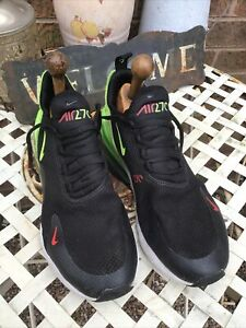 Nike air Max 27c Men's Trainers,size 8.5,black & Yellow