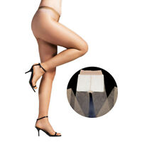 ElsaYX Women Shiny Tights Without Cotton Pad