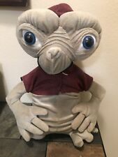 Rare E. T. Extra Terrestrial Plush Doll Red Hoodie Sweat Plush Collectible