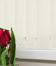 """Kingham crème made to measure vertical blind remplacement lames 89mm large 3.5"""""""