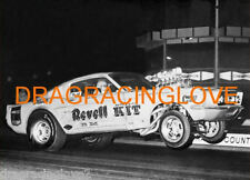 "Skip Hess ""Revell Kit"" 1967 Ford Mustang Gasser 8x10 GLOSSY B/W PHOTO!"